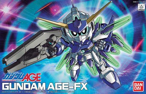 SDガンダム BB戦士 ガンダムAGE-FX