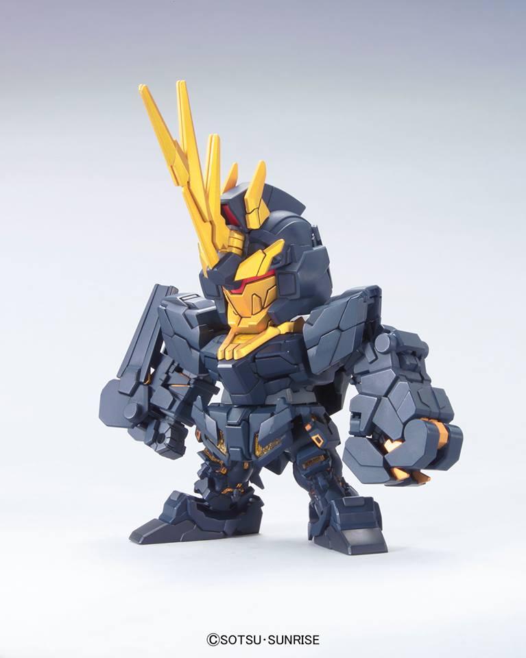 65877SDガンダム BB戦士 ユニコーンガダム2号機バンシィ [Unicorn Gundam 02 Banshee]