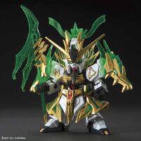 SDガンダム 三国創傑伝  関羽雲長νガンダム [Guan Yu Nu Gundam] 4573102567550 5056755