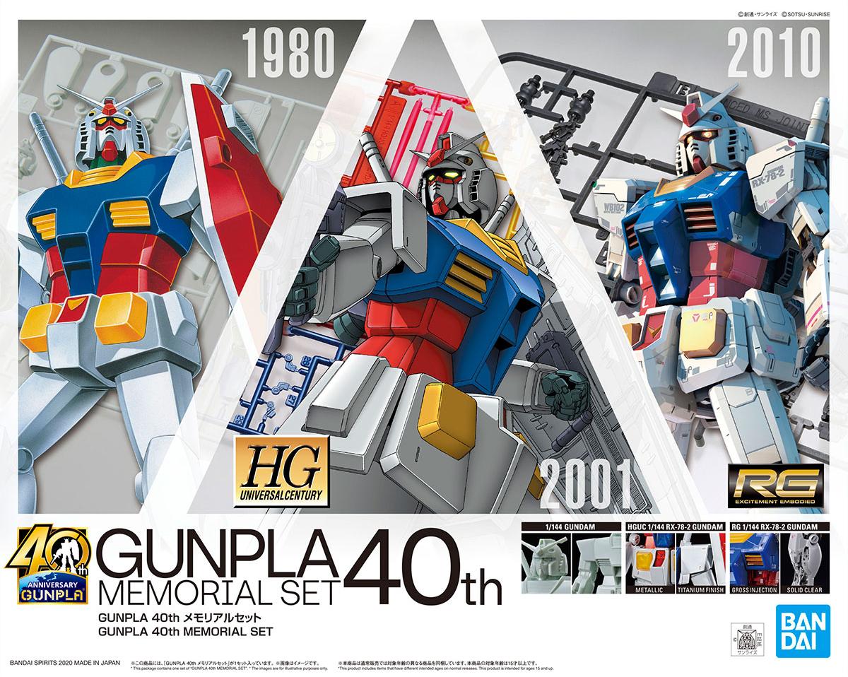 GUNPLA 40th メモリアルセット